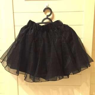 ✨黑色超級澎澎裙