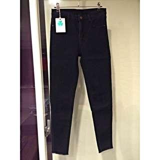 韓版顯瘦窄管褲