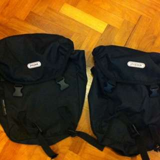 Phil And Ted Saddle Bags For Phil And Ted Pushchair