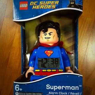 Lego Kids Super Heroes Superman Alarm Clock