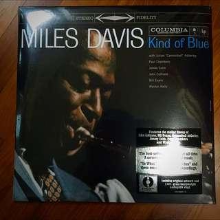 LP Vinyl Record: Miles Davis Kind Of Blue 180gram