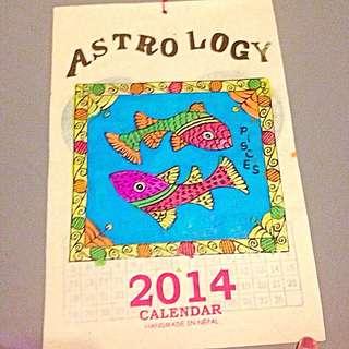 ♻️贈送區🌛手工月曆