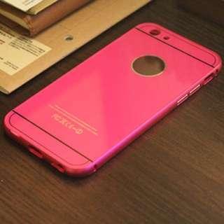 iphone6 手機保護殼 兩件式鋁合金邊框+抗刮PC後蓋
