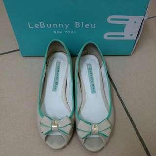 LeBunny Bleu內增高魚口鞋
