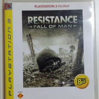 PS3 Resistance For Sale