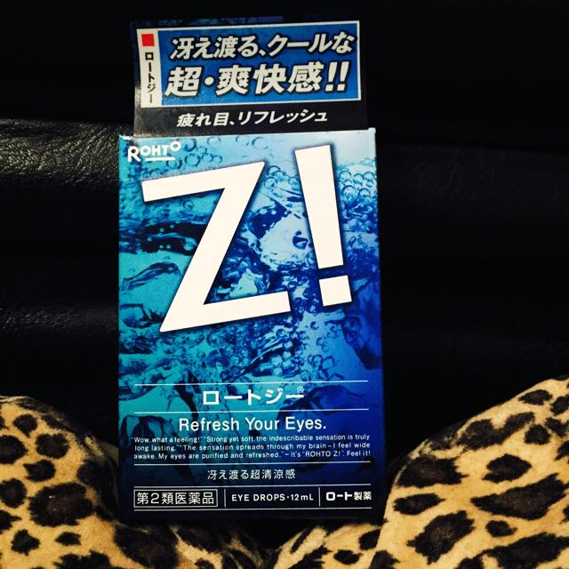 [日本] ROHTO樂敦  Z!眼藥水