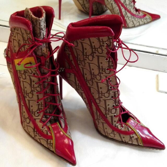 Dior 運動高跟靴   (39)