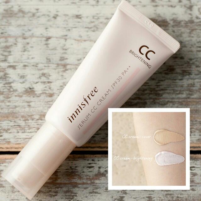 Innisfree serum cc cream