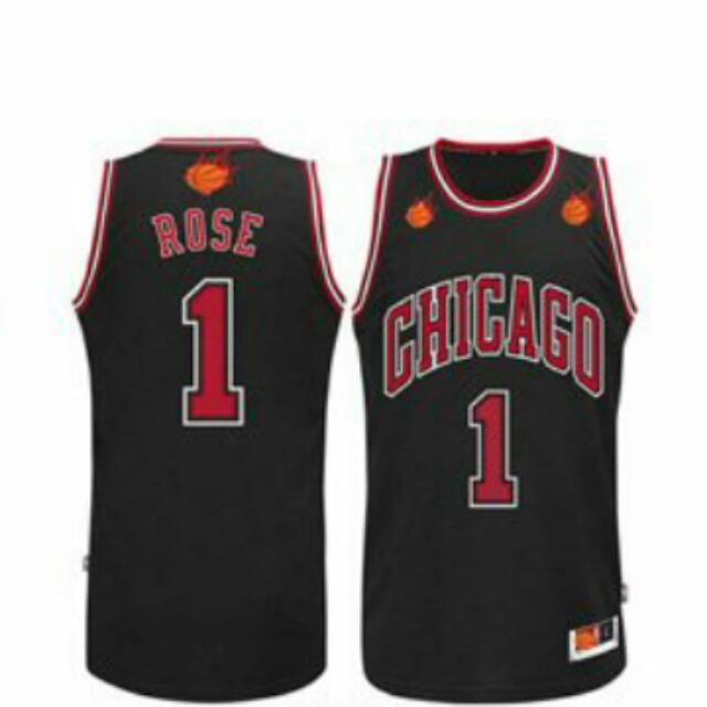 wholesale dealer 561cc 2d979 NBA CHICAGO BULLS DERRICK ROSE JERSEY, Men's Fashion on ...