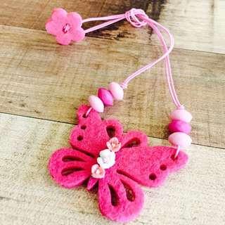 Pretty Handmade Child Necklace
