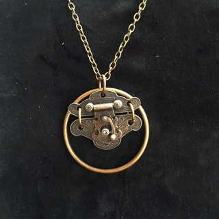 🚚 手製純銅  古鎖項鍊