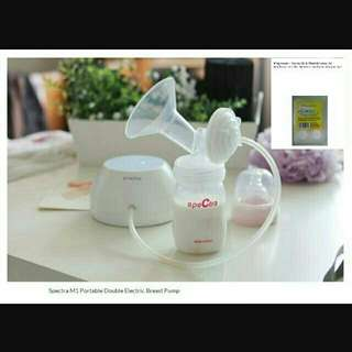 Brand NEW M1 Spectra Double Breast Pump + Free Gift