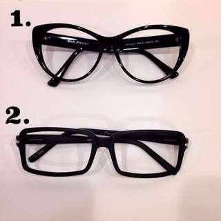 🚚 黑框眼鏡(無鏡片)