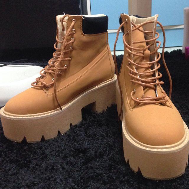 厚底 靴靴