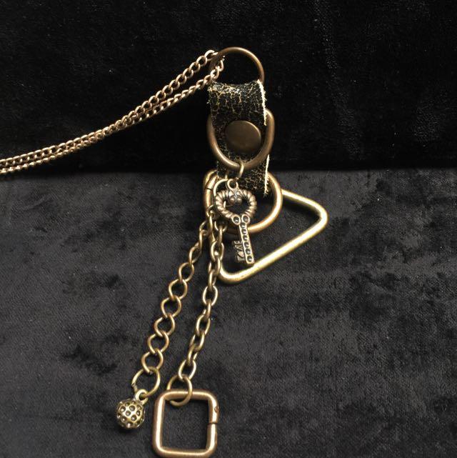 手製純銅 幾何項鍊