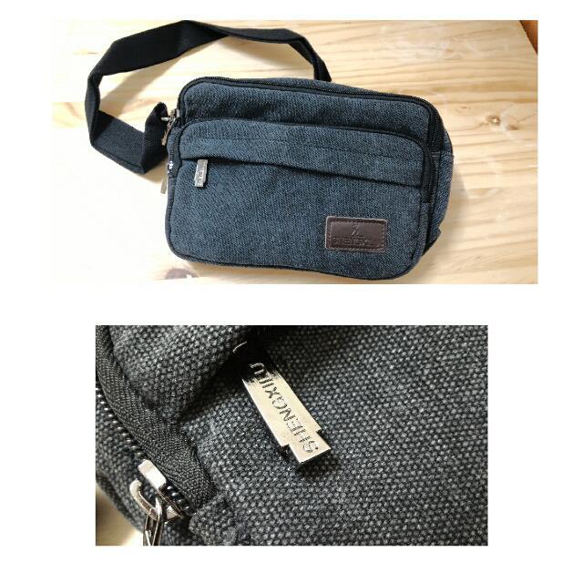 👏全新 男女適用 帆布包 小側背包 小包包