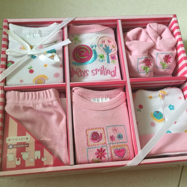595047f92d2e Brand New Shears Baby Gift set (baby girls)