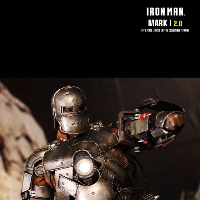 Hot Toys Iron Man Mark 1 2.0