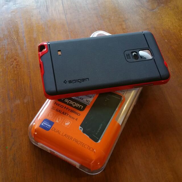 sale retailer 8c722 e58da Samsung Galaxy Note 4 Spigen Neo Hybrid