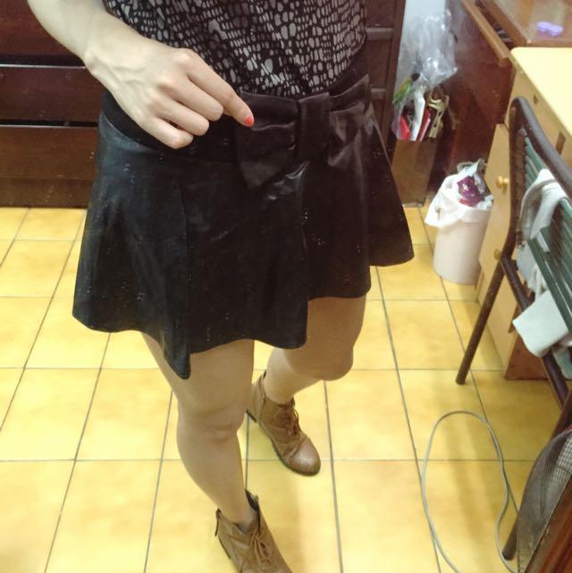 SO NCIE皮褲裙