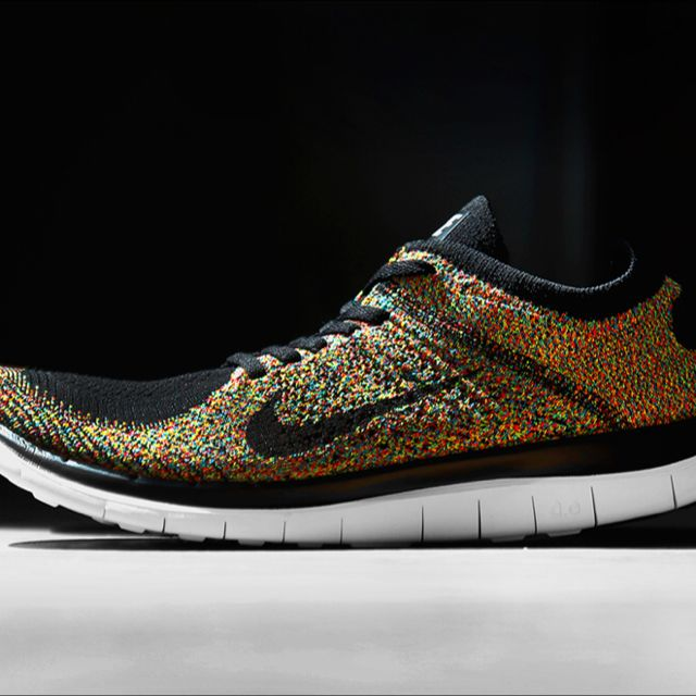 online retailer 48bed 3d232 WTB Nike Flyknit Free 4.0 Multicolor Size 8, Sports on Carousell