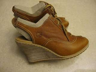 Timberland 全皮 露跟魚口鞋 休閒鞋 (原價:4200 ) 只有一雙