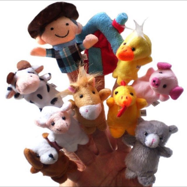 Brand New Old Macdonald Finger Puppets