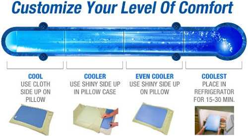 Chillow Cooling Pillow Solutions For Sleep Rumah Perabot Others