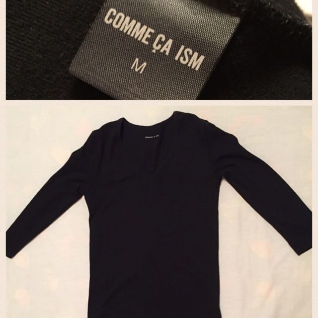 comme ca ism 七分袖