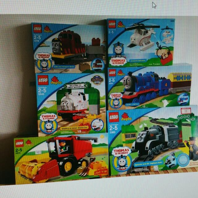 DUPLO LEGO THOMAS THE TRAIN 3353 3354 3300 3352 5545 4973 5547 ...