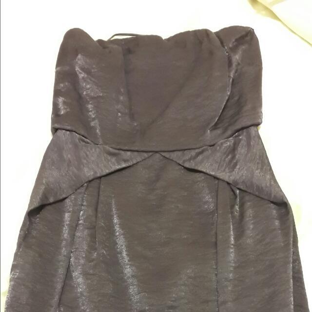 Forcast Strapless Dress