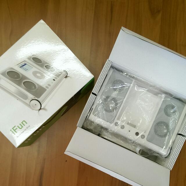 IFun, Boom For IPod. 無線遙控音響