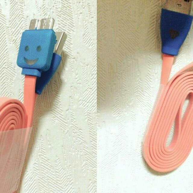 Note  3會發光的充電線