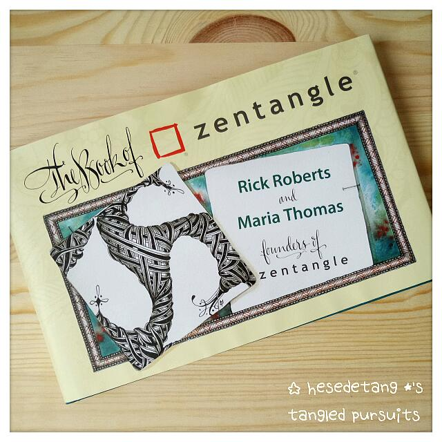 [ RESTOCKING ] The Book Of Zentangle By Rick Roberts & Maria Thomas