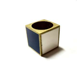 Funky Geometric Ring #changeitup