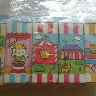 Unopened Complete Hong Kong Hello Kitty Circus Set