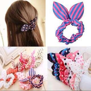 Rabbit Ears Hair Tie
