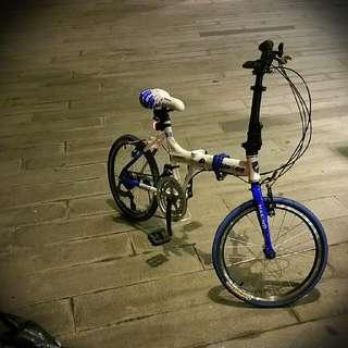 Foldable Aluminum Alloy Bike