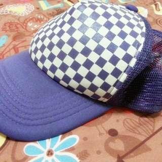 (二手)休閒帽~紫