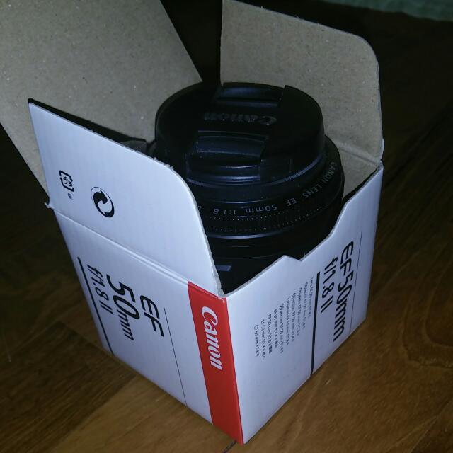 50mm f/1.8 II CANON EF 50MM Lens