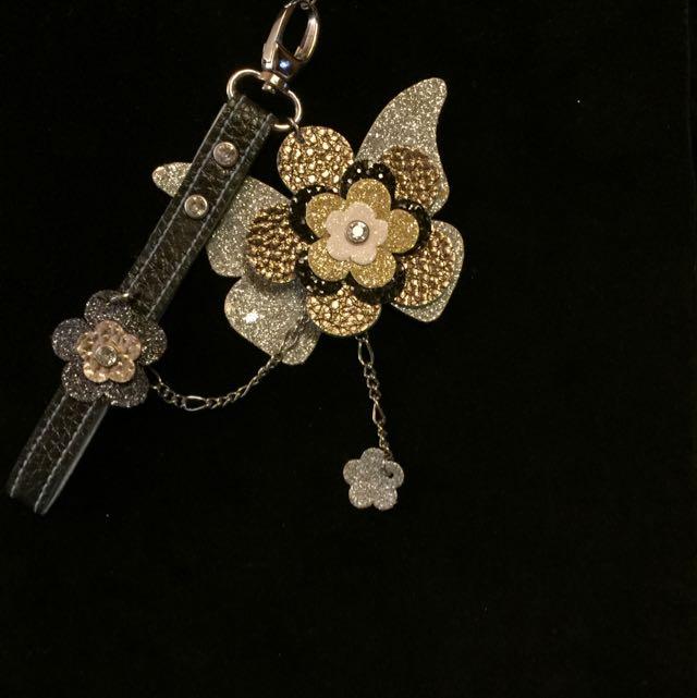 亮片蝶/包包.手機.鑰匙圈吊飾/含運