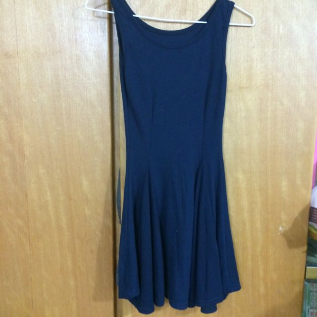 全新-深藍背心裙👗