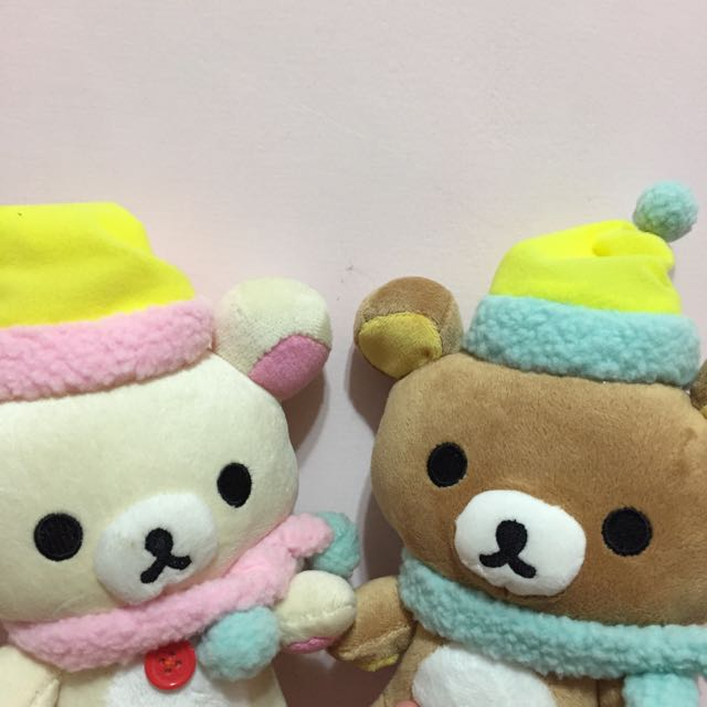 情侶定情禮物🎁懶懶熊