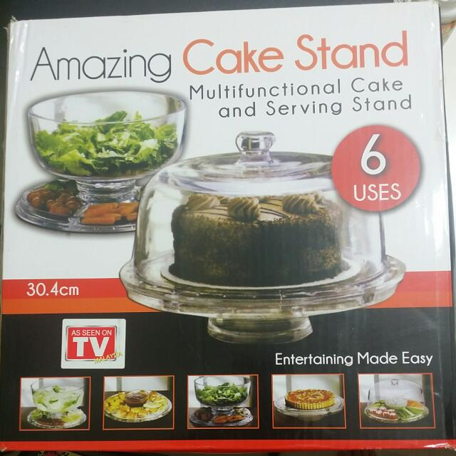 Price Reduced - Amazing Cake Stand 6 Functions