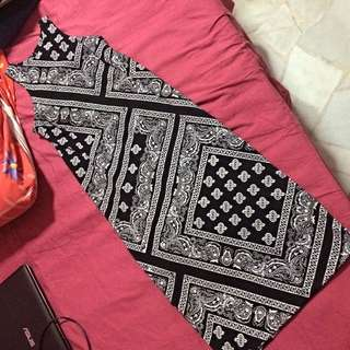 Bandana Midi dress $25