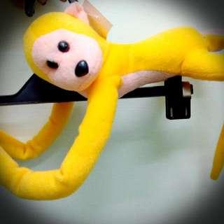 九成新猴子娃娃