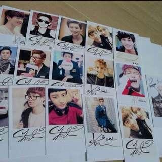 Customized EXO Lomo Card