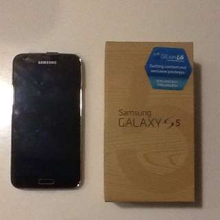 Samsung Galaxy S5 32GB Copper Gold