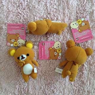 🇯🇵 全新-日本拉拉熊吊飾