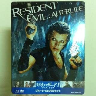 惡靈古堡:陰陽界 (日版鐵盒全新未拆) 藍光+DVD